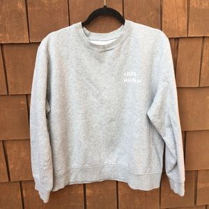 Everlane 100% human sweatshirt large